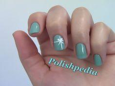 Tiffany's Christmas Present Nail Art - EASY!