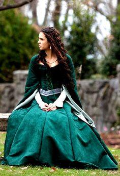 Nina Dobrev as Katherine Pierce in The Vampire Diaries (2011).