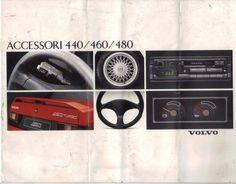 Volvo 480/460/440 accessori 1/12