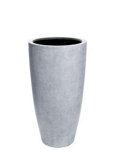 Fiberstone planter, bullet shape - 40 x Planters, Vase, Bullet, Home Decor, Homemade Home Decor, Planter Boxes, Flower Vases, Bullets, Plant