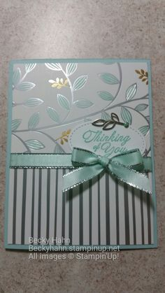 """Adding a little color to a card that's """"cased""""."""