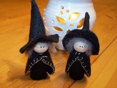madebyjoey: wee witches - tutorial
