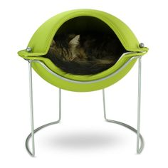 This is so cool! I would love one for my kitty. Hepper POD Green  D Lifestyle $199.00