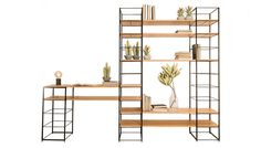 Modern living demands flexibility, so it's important that our homes can respond to anything life has to throw at them. Designed for adaptability by Heal's in-house team, the Tower shelving system consists of a variety of individual modules that can be easily reconfigured to meet your storage and display needs.