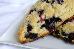 Blueberry Buttermilk Scones by Beth Kirby | {local milk}, via Flickr