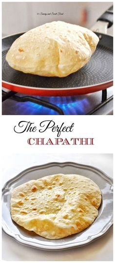 A very soft and puffed up Indian flat bread, Chapathi. Serve with Indian curry, … A very soft and bloated Indian flatbread, Chapathi. Serve with Indian curry, main courses or even a sandwich wrap. Plats Ramadan, Indian Flat Bread, Indian Breads, Good Food, Yummy Food, Cooking Recipes, Healthy Recipes, Cooking Tips, Vegetarian Recipes