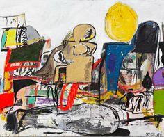 EDDIE MARTINEZ  http://www.widewalls.ch/artist/eddie-martinez/  #contemporary #art #painting