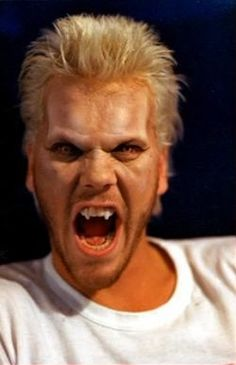 Kiefer Sutherland. The Lost Boys (1987). Vampires.