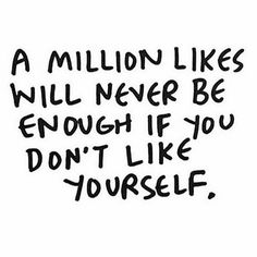 "When people say ""you have so many followers, that must feel amazing right?"". The number of followers you have doesn't make you better, cooler or happier than anyone else. You have to love YOURSELF. Be proud of YOURSELF. You shouldn't let a person, scales or followers define who YOU ARE #selflove www.kaylaitsines.com/app"