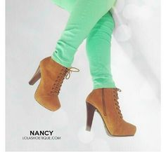 NANCY Booties | Lolashoetique