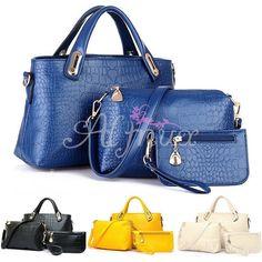 Women Handbag Shoulder Bags Tote Purse Leather