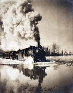 1907 Illinois ferrocarril atrás en el tiempo Guardar Wanderlust
