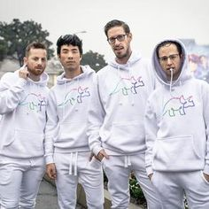 Try Guys Official Hoodies and Sweaters – The Try Guys Satisfying Pictures, Try Guys, Smosh, Good People, Amazing People, I Don T Know, White Hoodie, Hoodies, Sweatshirts