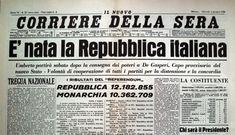 Corriere 1946 - Nascita della Repubblica Italiana