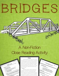 Bridges: A Nonfiction Close Reading Activity