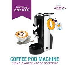 [ONMOL - KULINER] Hi OnMol Shoppers! Nikmati racikan kopi berkelas serasa di café bersama OnMol.com..Yuk, miliki berbagai mesin kopi berkualitas mulai dari Rp.2 Jutaan hanya di OnMol.com! Tersedia fasilitas cicilan ringan bunga 0% untuk pengguna kartu kredit BCA..Yuk, klik OnMol.com sekarang! #OnMolID #onlineshop #belanjaonline #belanjahemat #kopi #mesinkopi