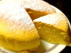 材料3つで簡単スフレチーズケーキ!の画像