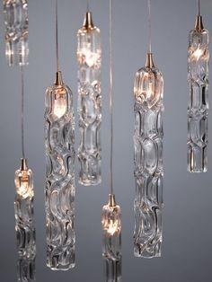 Shakuff - Exotic Glass Lighting and Decor Необычные лампы Luminaire Design, Lamp Design, Chair Design, Design Design, Light In, Lamp Light, Pendant Chandelier, Chandelier Lighting, Chandeliers