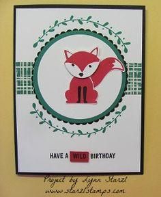 Foxy Friends bundle! Foxy Friends stamp set and the Fox...