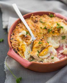 Bloemkoolschotel - Comfortfood ten top: nostalgisch eten waar je bij van wordt, hartverwarmend, eenvoudig en lekker!