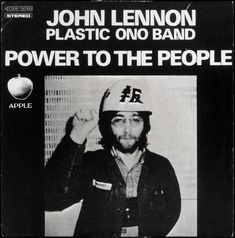 Tittenhurst Park: John Lennon and Yoko Ono / Plastic Ono Band, Power to the People - 1971 Beatles Photos, Beatles Songs, The Beatles, John Lennon Interview, Let It Be Film, John Lennon And Yoko, Yoko Ono, Power To The People, Album Covers