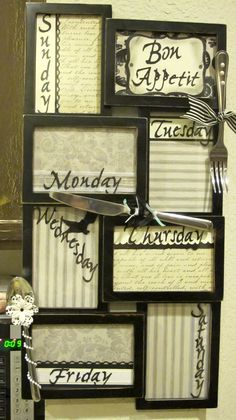 Sparkle Wishes from Heather: My new Menu Board!