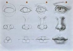 dibujar nariz - Buscar con Google