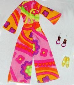 Vintage Barbie Pajama Pow #1806 (1967 - 1968)