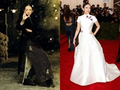 How 7 Chinese Actresses Translated Their On-Screen Style for the Met Gala Red Carpet