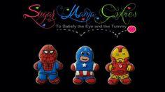 One Dozen Avengers Super Hero Cookies