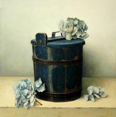 Aad Hofman(Dutch, b.1941) Spekemmer [te koop] olieverf op paneel