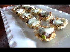 Philly Cheesesteak Cups |How to Cook - YouTube