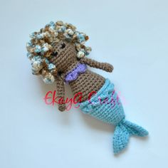 Maybel the Merbaby Doll by EkayG on Etsy