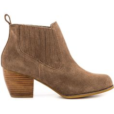 Restricted Women's Western - Taupe ($73) ❤ liked on Polyvore