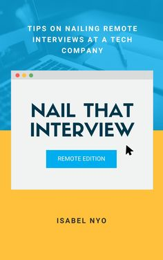 This ebook provides a concise and actionable guide for those who are looking for a job at a tech company because the tech industry is one of the industries that is still hiring and growing despite the global pandemic.   We will be looking at interviewing at tech companies holistically, agnostic of the role, and I will be helping you learn the skills you need to ace your next interview. Technology Careers, Interview Skills, Interview Preparation, Data Structures, Looking For A Job, Career Development, Under Pressure, Job Search, Personal Branding