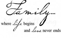 Small Quotes About Family Tattoos