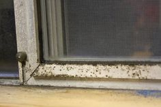 Discover how to clean aluminum window frame!