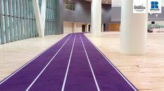Decoflex SW14 IAAF Certified Athletic Running Track Rubber Surface @ New York University NYU, Abu Dhabi, UAE
