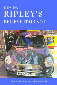 A trip to Ripley's Believe it or Not! London is a brilliant part of a day out…