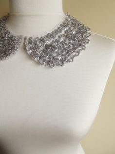 detachable peter pan collar necklace $20.90, via Etsy.