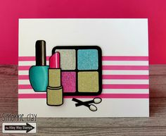 Teenage girl birthday card box cards pinterest teenage girl the alley way stamps ooh la la by simonne clay handmade card makeup bookmarktalkfo