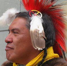Native American Profile by Colorado Sands, via Flickr