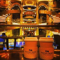 Hot chocolate in the Piazza #PrincessCruises  -- photo by Instagram user adomani