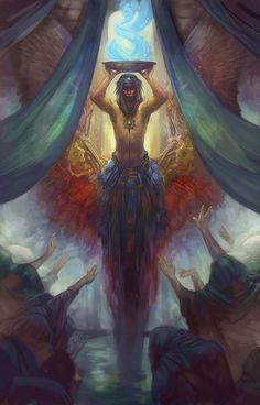 The Oracle by juliedillon on dA