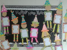 School Is a Happy Place: FREE New Year's Activities for the Primary Classroo… School Is a Happy Place: FREE New Year's Activities for the Primary Classroom - New Years Activities, Holiday Activities, Kindergarten Activities, Writing Activities, Classroom Activities, Primary Activities, Preschool Bulletin, Classroom Crafts, Primary Classroom