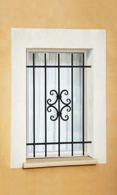 Window Grill Design Modern, Door And Window Design, Grill Door Design, Door Gate Design, Room Door Design, Railing Design, House Outside Design, House Front Design, Window Security Bars