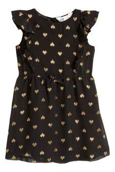 Шифоновое платье с рисунком