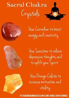 Sacral Chakra Crystals