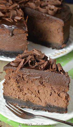 14 Holiday desserts to make chocolate lovers drool: Chocolate cheesecake cake