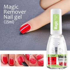 Varnish Remover, Gel Remover, Uv Gel Nail Polish, Uv Gel Nails, Magic Nails, Liquid Nails, Clean Nails, Manicure Tools, Bottle Packaging